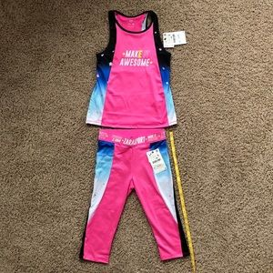 Zara Kid's workout outfit, Size 11-12 yrs, NWT